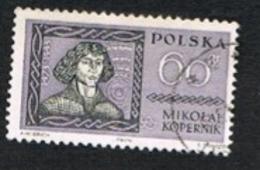 POLONIA (POLAND) - SG 1228 - 1961 FAMOUS POLES: COPERNICUS       - USED° - 1944-.... République