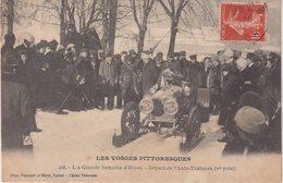 LES VOSGES PITTORESQUES : La Grande Semaine D'Hiver . Départ De L'Auto-Traineau ( 1ER Prix ) . - Sonstige
