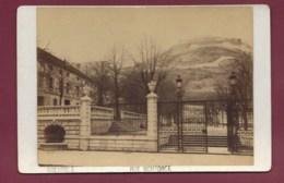 270220A - PHOTO ANCIENNE CABINET FAVEL 4 Place Grenette Fabrique Gant De Peau - 38 GRENOBLE Rue Montorge - Grenoble