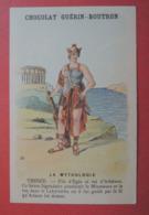 CHROMO.  Guerin-Boutron. Baster & Vieillemard. La  Mythologie.  N° 20.  THESEE.  Labyrinthe.  Fil  D' Ariane - Chromos