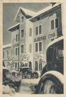Veneto - Vicenza - Asiago - Hotel Pension Cima XII - F. Grande - Anni 40 - Molto Bella Con Auto In P.p. - Italia