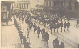 J55 - MILITARIA - Cérémonie Des Obsèques D'un Officier Français - Guerre 1914-18