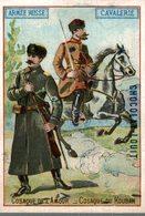 CHROMO CHOCOLAT LOUIT  ARMEE RUSSE CAVALERIE COSAQUE DE L'AMOUR  COSAQUE DU KOUBAN - Louit