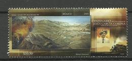 MEXICO  2007 100th DEATH CENTENARY OF JESUS GARCIA CORONA,RAILWAY,TRAIN MNH - Messico