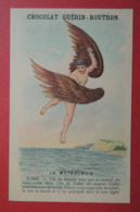 CHROMO.  Guerin-Boutron. Baster & Vieillemard. La  Mythologie.  N° 25.  ICARE.  Crête.  Mer  Egée - Non Classificati