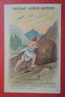 CHROMO.  Guerin-Boutron. Baster & Vieillemard. La  Mythologie.  N° 26. SISYPHE.  Cruel Roi De Corinthe - Unclassified
