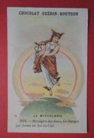 CHROMO.  Guerin-Boutron. Baster & Vieillemard. La  Mythologie. N° 31. IRIS. Messagère Des Dieux. Changée En Arc-en -Ciel - Non Classificati