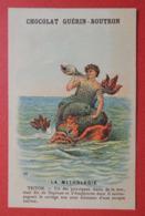 CHROMO.  Guerin-Boutron. Baster & Vieillemard. La  Mythologie. N° 46.  TRITON.  Conque Marine - Non Classificati