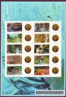 2006 - F3866B - Feuillet Autoadhésif Les Impressionnistes Personnalisé Louis D'or Louis XV - Personalized Stamps