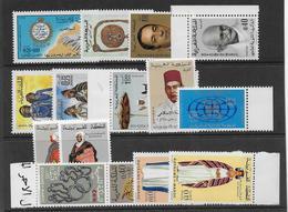 MAROC - ANNEE COMPLETE 1969 ** MNH - COTE = 28.5 EUR. - Marocco (1956-...)