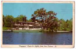 """6917 - New-Orlléans ( LA ) USA - """" Voyageur"""" Cruise To Lafitte From New-Orleans - - Autres"""