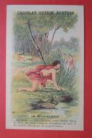 CHROMO.  Guerin-Boutron. Baster & Vieillemard. La  Mythologie. N° 60.  ACTEON. Changé En  Cerf. - Non Classificati