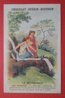 CHROMO.  Guerin-Boutron. Baster & Vieillemard. La  Mythologie. N° 64.  Les  NYMPHES. - Unclassified