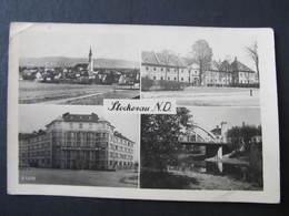 "AK STOCKERAU B. Korneuburg ""Nie Wieder Klassenkampf"" Propagande  1943 // D*42329 - Stockerau"