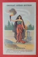 CHROMO.  Guerin-Boutron. Baster & Vieillemard. La  Mythologie. N° 74.   HECATE.  Reine Des Enfers. Les  Spectres. - Chromos
