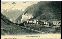 RC145 PIOTTA ( LINEA DEL GOTTARDO ) - Gares - Avec Trains
