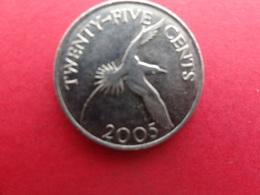 Bermudes  25 Cents  2005  Km 110 - Bermudes