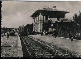 RC146 GALLESE - STAZIONE GALLESE VASANELLO - Stazioni Con Treni