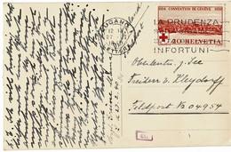 1940, Schweiz An Deutsche Feldpost  , A3090 - Allemagne
