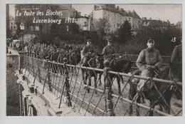 CBPN138/ Grand Duché CP La Fuite Des Boches Luxembourg 1918 MINT - Luxemburg - Stadt