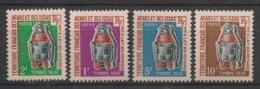 Afars Et Issas - 1970 - Taxe TT N°Yv. 1 à 4 - Série Complète - Neuf Luxe ** / MNH / Postfrisch - Afars E Issas (1967-1977)