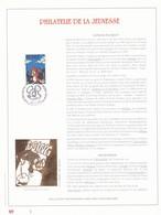 Exemplaire 1 Feuillet Tirage Limité 500 Exemplaires Frappe Or Fin 23 Carats 2663 Bd Bande Dessinée Chlorophylle - Feuillets