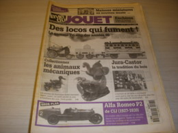 LVJ La VIE Du JOUET 07 04.1996 TRAIN LOCOS Qui FUMENT TRI-ANG BOIS JURA-CASTOR - Antigüedades & Colecciones
