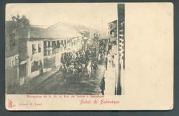 C.P. De Réception De S.M. Le Roi De Serbie à Salonique Serfidje - W0561 - Greece