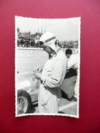 Fotografia Originale Rudolf Caracciola Pilota Gran Premio Tripoli 1939 Auto - Non Classificati