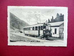 Cartolina Postale Berninabahn Piz Palu Treno Ferrovia Svizzera Viaggiata Rara - Other