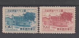 TAIWAN  /FORMOSE  1955  Dr. Sun Yat Sen 90th Birthday  NO GUM  AS ISSUED Réf  Q 388 - Taiwan (Formosa)