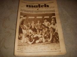 MATCH INTRAN 131 12.03.1929 RUGBY CARCASSONNE VELO MONT FARON FOUCAUX PELISSIER - Sport