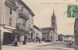 Indre-et-Loire - Vinay - La Place Et L'église - Autres Communes