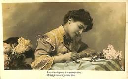 CPA - Thème - Fantaisie - Femme - 6 Cartes - Lot 77 - 5 - 99 Postkaarten