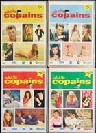Salut Les COPAINS - Vol. 1 - 2- 3 - 4 - ( 4  DVD ) . - Concert Et Musique