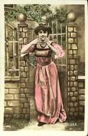 CPA - Thème - Fantaisie - Femme - 6 Cartes - Lot 78 - 5 - 99 Postkaarten