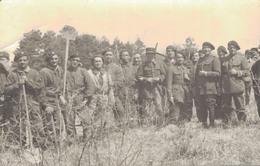 J55 - MILITARIA - Un Groupe De Tankistes Du 504e Régiment De Chars De Combat Alpins De Valence - Guerre 1914-18