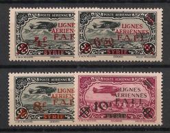 Levant - 1942 - Poste Aérienne PA N°Yv. 1 à 4 - Série Complète - Neuf Luxe ** / MNH / Postfrisch - Nuovi