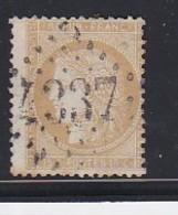 N°59 OBL. GC 4337 (WASSIGNY  Ardennes) - Marcophilie (Timbres Détachés)