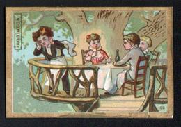 Chromo Au Petit Paris, Nevers, Robinson - Tè & Caffè