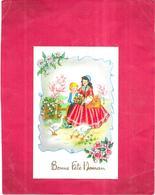 CARTE FETE - BONNE FETE MAMAN - BIS - - Día De La Madre