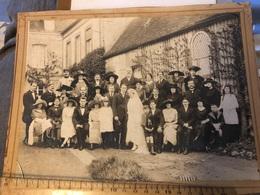 Photo Original - Une Cérémonie De Mariage  Rugles 27 Eure - Anciennes (Av. 1900)