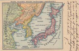 Karte Von Japan & Korea - Oesterr.Frankatur - 1905         (A-189-191009) - Other