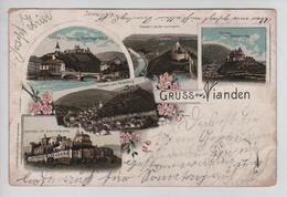 CBPN144/ Grand Duché CP Gruss Aus Vianden Diverses Vues - Vianden