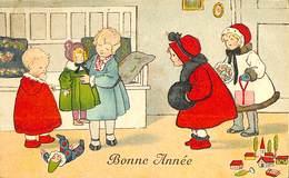 CPA - Thème - Fantaisie - Fête - 6 Cartes - Lot 80 - Cartes Postales - 5 - 99 Postkaarten