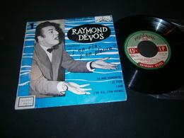 EP 45t  / Raymond Devos J'en Ris J'en Pleure Fontana Boris Vian - Humour, Cabaret