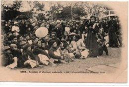 Tonkin-Musiciens Et Chanteurs Ambulants - Viêt-Nam