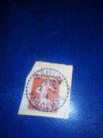 Cachet Pointillé 1914 Sur Fragment  CRILLON Vaucluse TB - Poststempel (Einzelmarken)