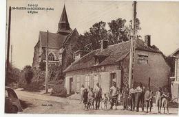 SAINT MARTIN DE BOSSENAY - St Martin De Boissenay  -  L'Eglise - Sonstige Gemeinden