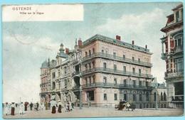 0907 - BELGIE - OOSTENDE - ZEEDIJK 1908 - Oostende